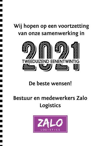Zakelijke nieuwjaarskaart 2021 jij-vorm 3