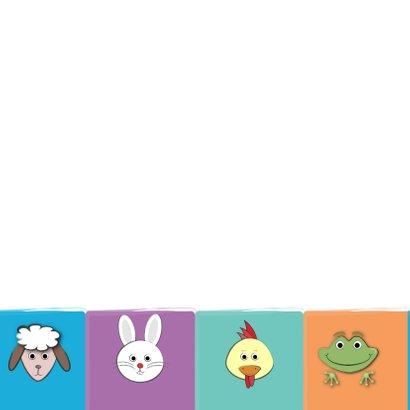Zoe-t dierenkaart met leeftijd 2
