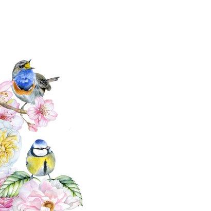 Zomaar bloemen vogeltjes 2