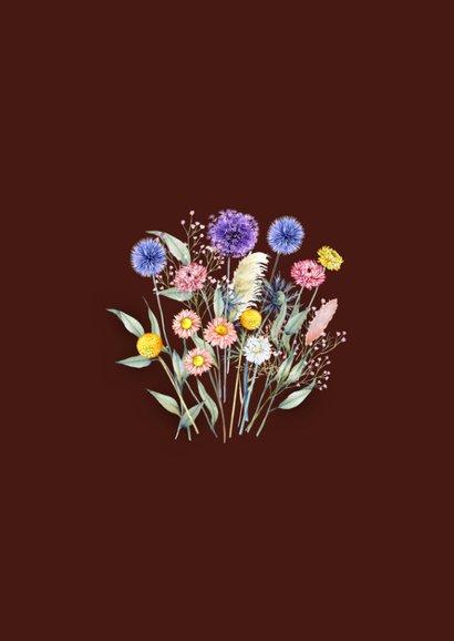 Zomaar droogbloemenboeketje 2