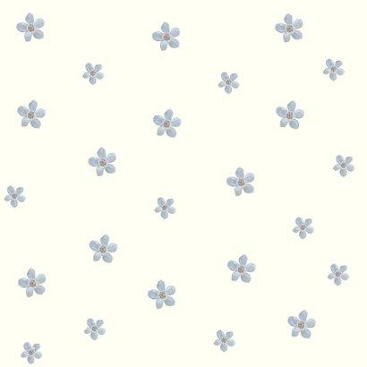 Zomaar-kaart bloemen en hart waterverf 2