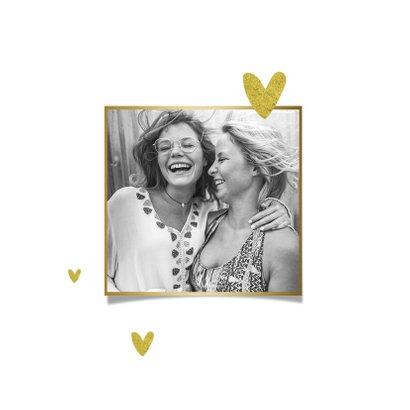 Zomaar kaart hip vol met liefde vriendschap familie goud 2