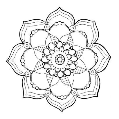 Zomaar kaart - Mandala 2