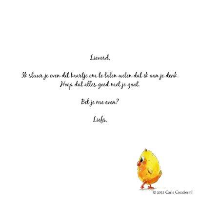 Zomaar kaarten houd 6 kippen afstand 3