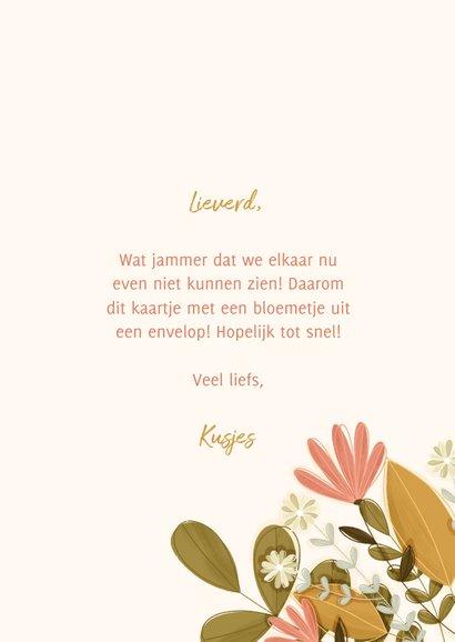 Zomaar kaartje een bloemetje uit een envelop 3