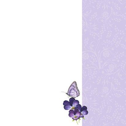 Zomaar met lieve viooltjes 3