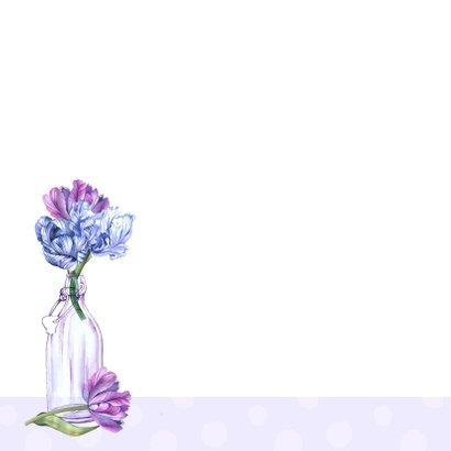 Zomaar vaasjes tulpen 2
