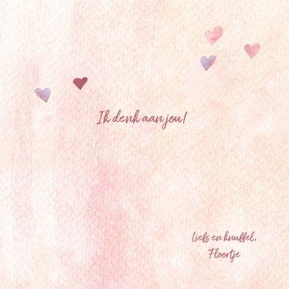 Zomaar - veel liefs hartjes 3