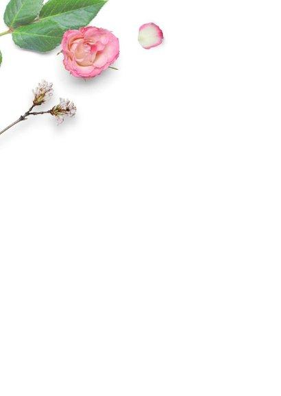Zomaarkaart bloemen liefs 2