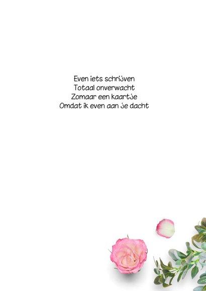 Zomaarkaart bloemen liefs 3