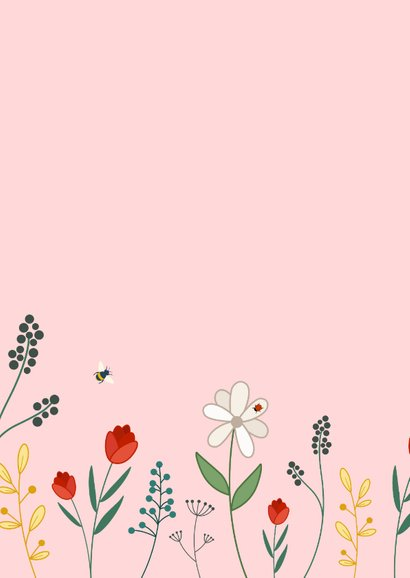 Zomaarkaart bloemen voor jou 2