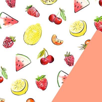 Zomerse groetjes tropisch fruit 2