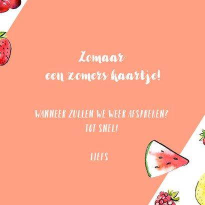 Zomerse groetjes tropisch fruit 3