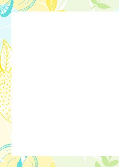Zomerse kaart met limonade 2