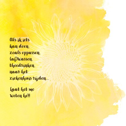 Zonnebloem-kracht voor jou 2