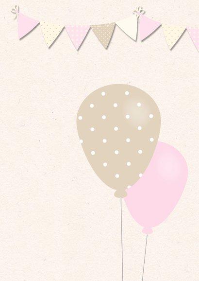 Zwanger olifantje ballonnen 2