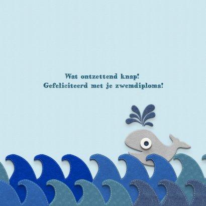 Zwemdiploma walvis A 3