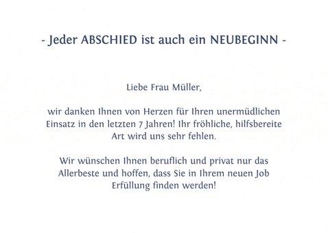 """Abschiedskarte mit Hand-Lettering """"Alles Gute"""" 2"""