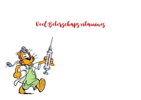Beterschapskaart vitaminen injectie - A 3