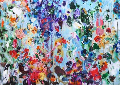 Bloemen schilderkunst iets fraais Martine de Ruiter 2