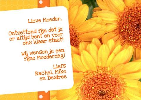 Bloemenkaart Gerbera Moeder - BK 3