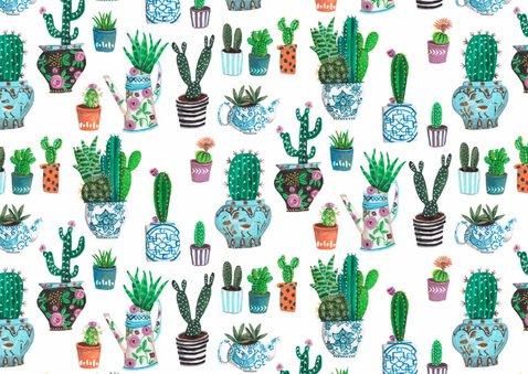 Cactus Uitnodiging Leeftijd 2