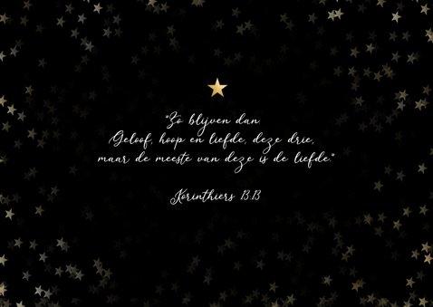 Christelijke nieuwjaarskaart - geloof hoop en liefde 2