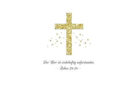 Christliche Osterkarte eigenes Foto 2