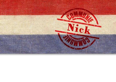 communie vlag stoer postzak jongen 2