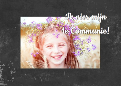 Communie wel niet krijtbord b 2