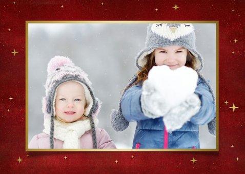 Corona foto kerstkaart - Samen gaat het ons lukken kerstboom 2