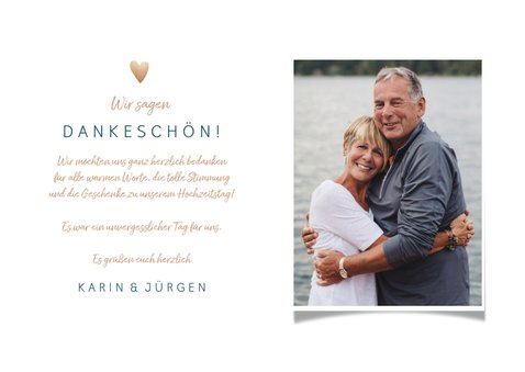 Dankeskarte Hochzeitstag Thank you all 3
