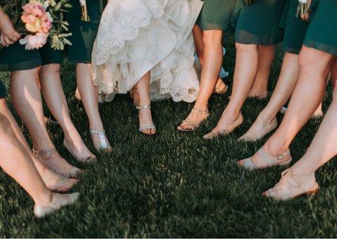 Dankeskarte zur Hochzeit Fotocollage 2