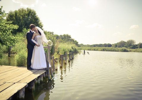 Danksagung zur Hochzeit Gingkoblätter Stempel Foto innen 2