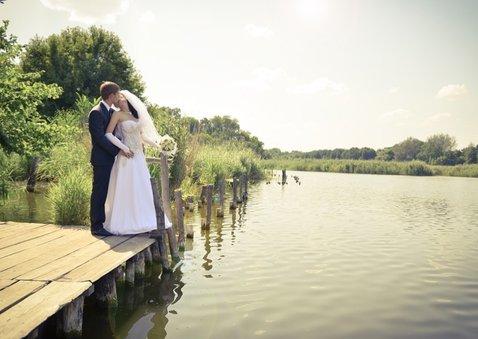 Danksagung zur Hochzeit Ginkgoblätter Stempel Foto innen 2