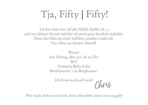 Einladung Fifty-Fifty 1 3