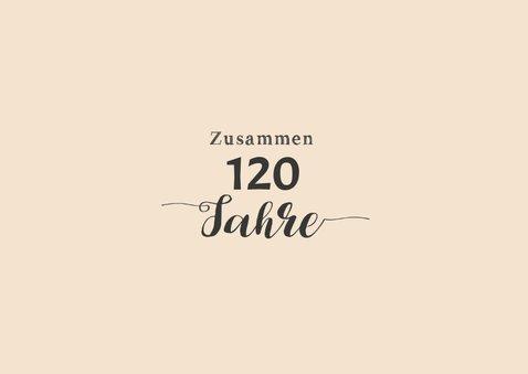 Einladung Gemeinsam Gut aussehen 120 2