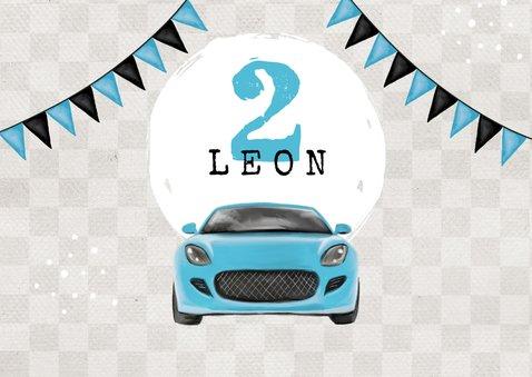 Einladung Kindergeburtstag Autos und Foto 2