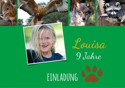 Einladung Wildpark Johannismühle 2