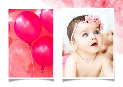 Einladung zum 1. Geburtstag Flamingo 2