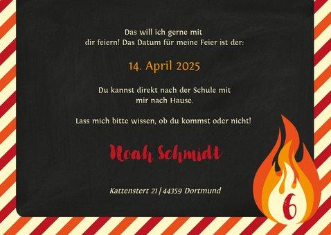 Einladung zum Geburtstag im Feuerwehr Feuerland 3