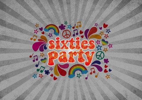 """Einladung zum Geburtstag """"Sixties Party"""" 2"""