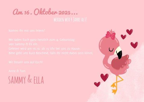 Einladung zum Geburtstag Zwillingsmädchen Fotos 3