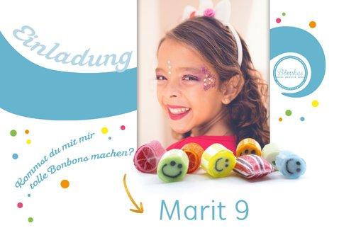 Einladung zum Kindergeburtstag bei Bömskes 2