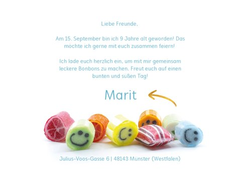 Einladung zum Kindergeburtstag bei Bömskes 3