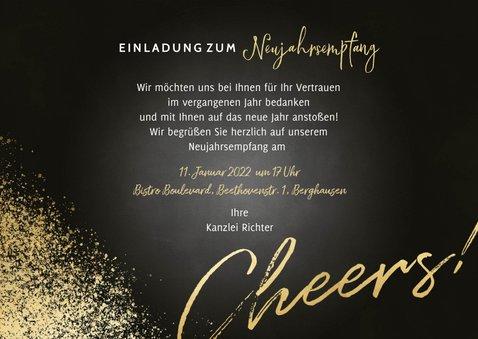 Einladung zum Neujahrsempfang Fotocollage 3