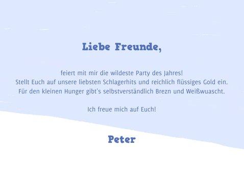Einladung zur Après-Ski Fete mit Bierkrügen 3