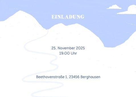 Einladung zur Après-Ski Sause mit Hand-Lettering 2
