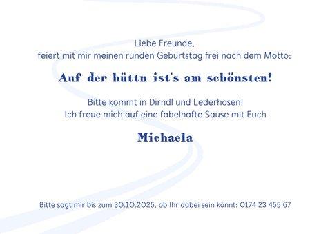 Einladung zur Après-Ski Sause mit Hand-Lettering 3