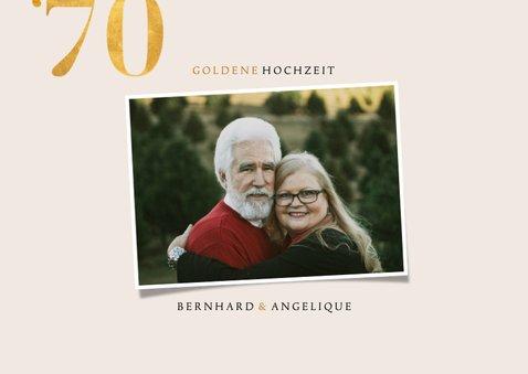 Einladung zur goldenen Hochzeit Fotos 1970-2020 2